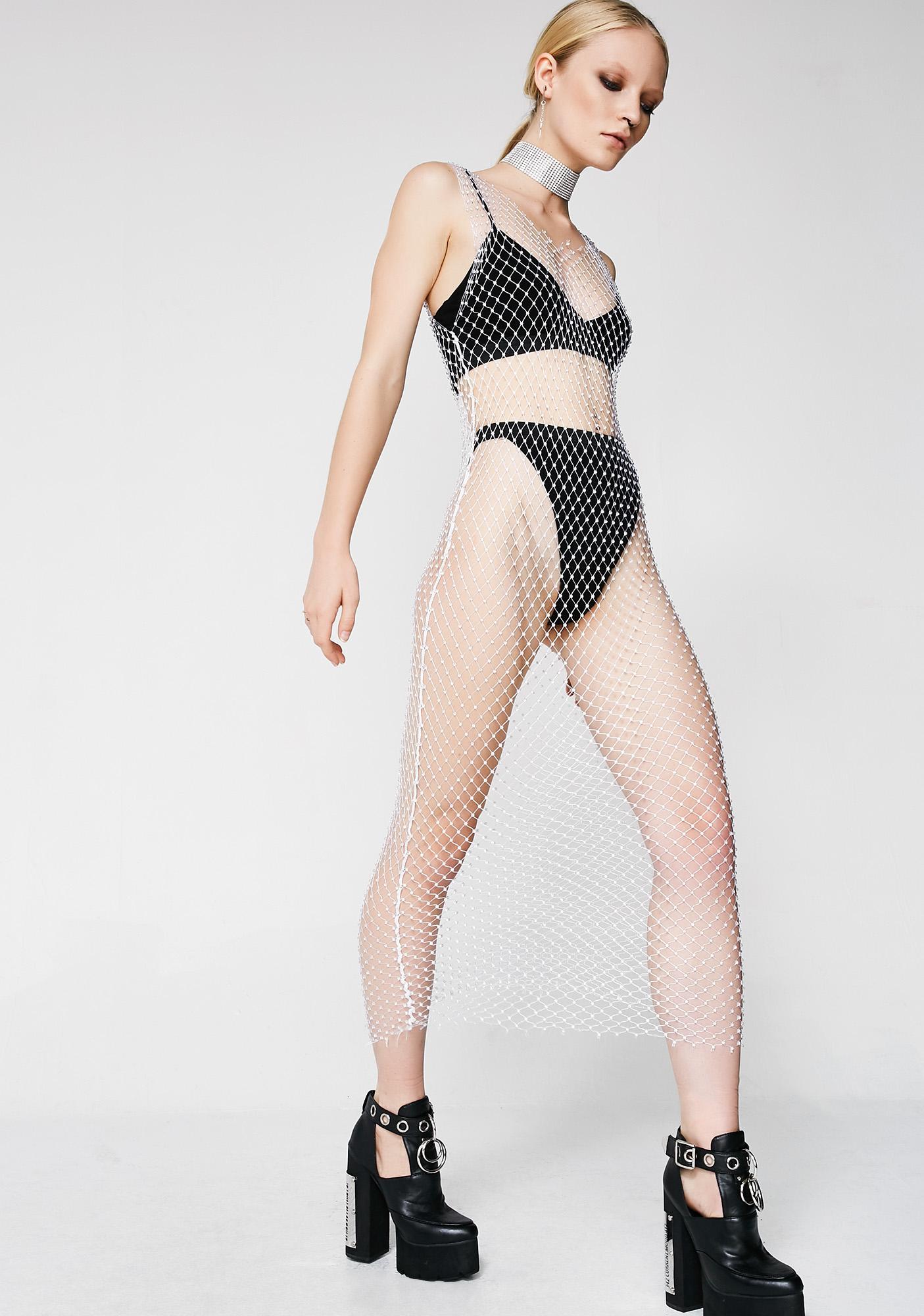 Kiki Riki Cover Me In Sparkle Maxi Dress