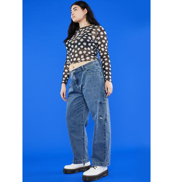 dELiA*s by Dolls Kill BB You're All That Carpenter Jeans