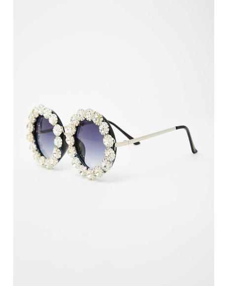 Hippie Vision Round Sunglasses