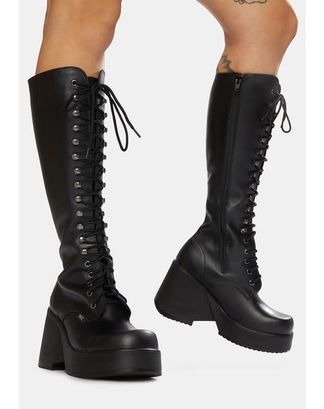 Phoenix Leather Knee High Boots