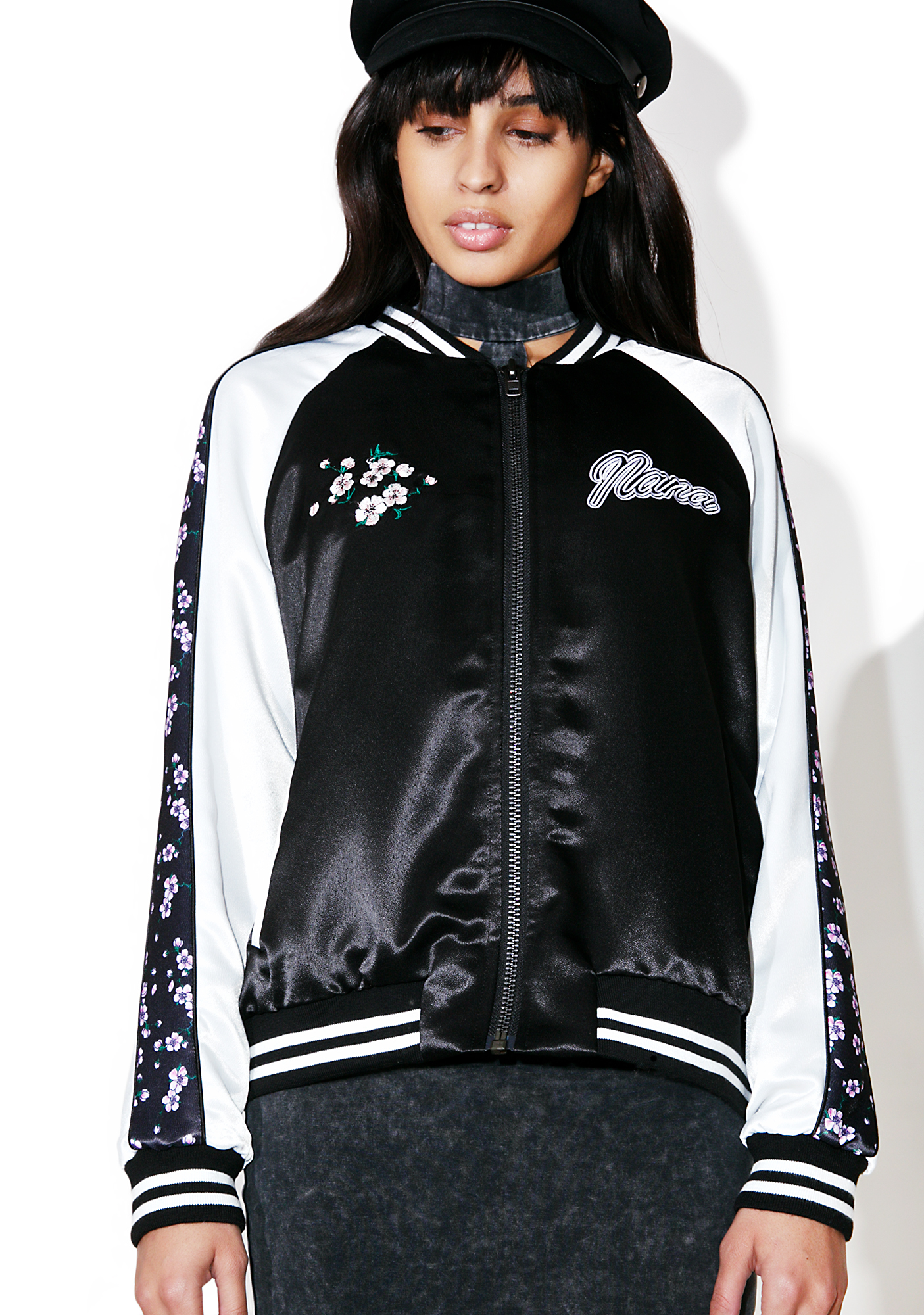 Nana Judy Time After Time Bomber Jacket