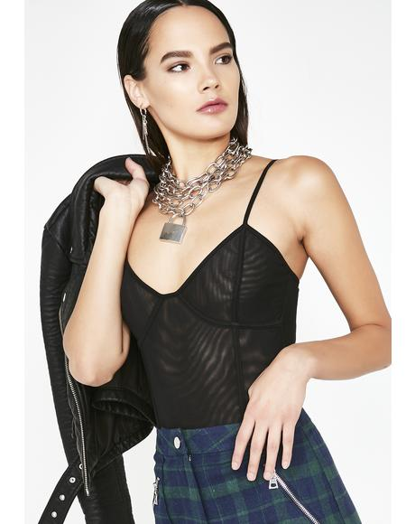 Dark Chevie Bodysuit