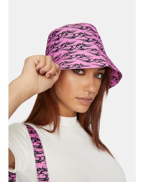 Pink Tattoo Love Bucket Hat