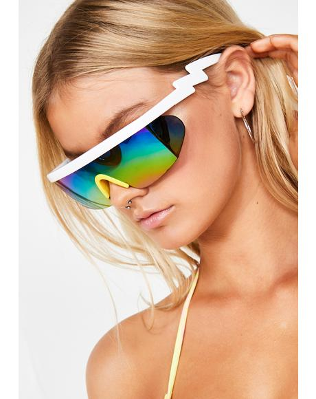 21818f0f17 Pure Turbo Thot Shield Sunglasses ...