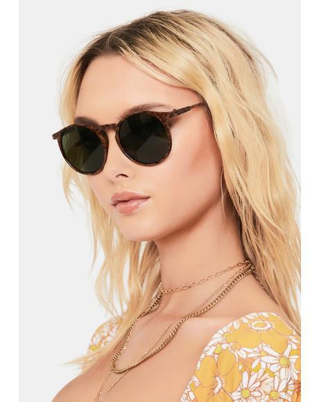 Boyle Round Sunglasses