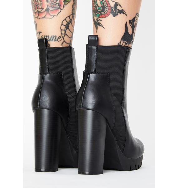 No Surrender Heeled Boots