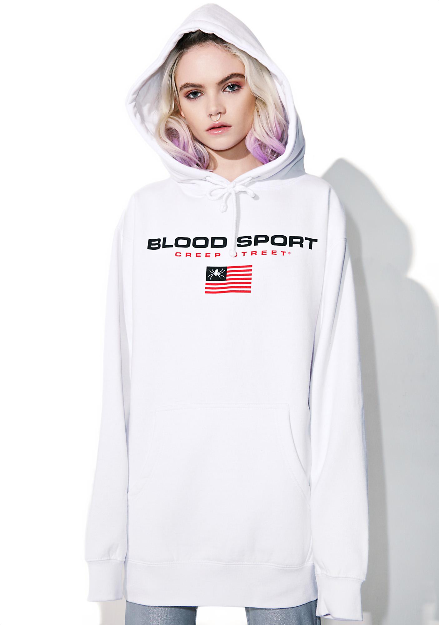 Creep Street Blood Sport Pullover Hoodie