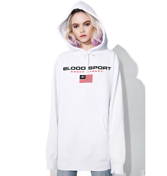 Creep Street Blood Sport Pullover Hoodie