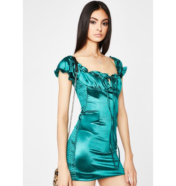 Lush Hidden Desire Mini Dress