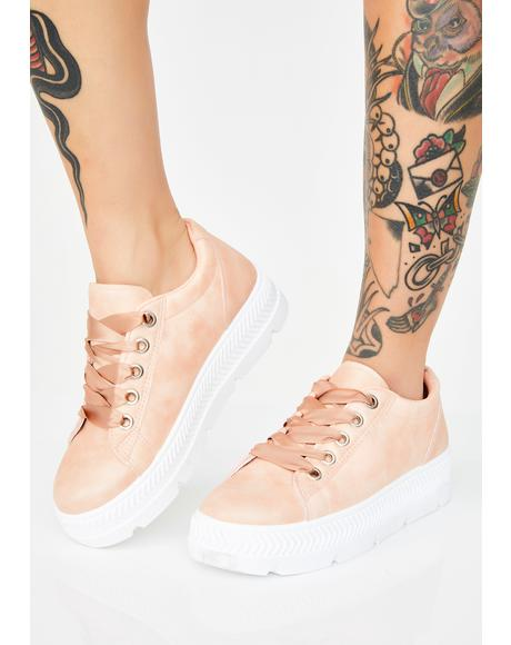 Lady Step To It Platform Sneakers