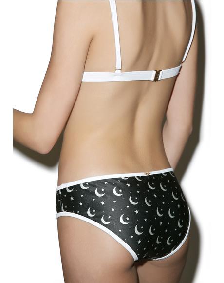 Moon & Star Bikini Bottoms