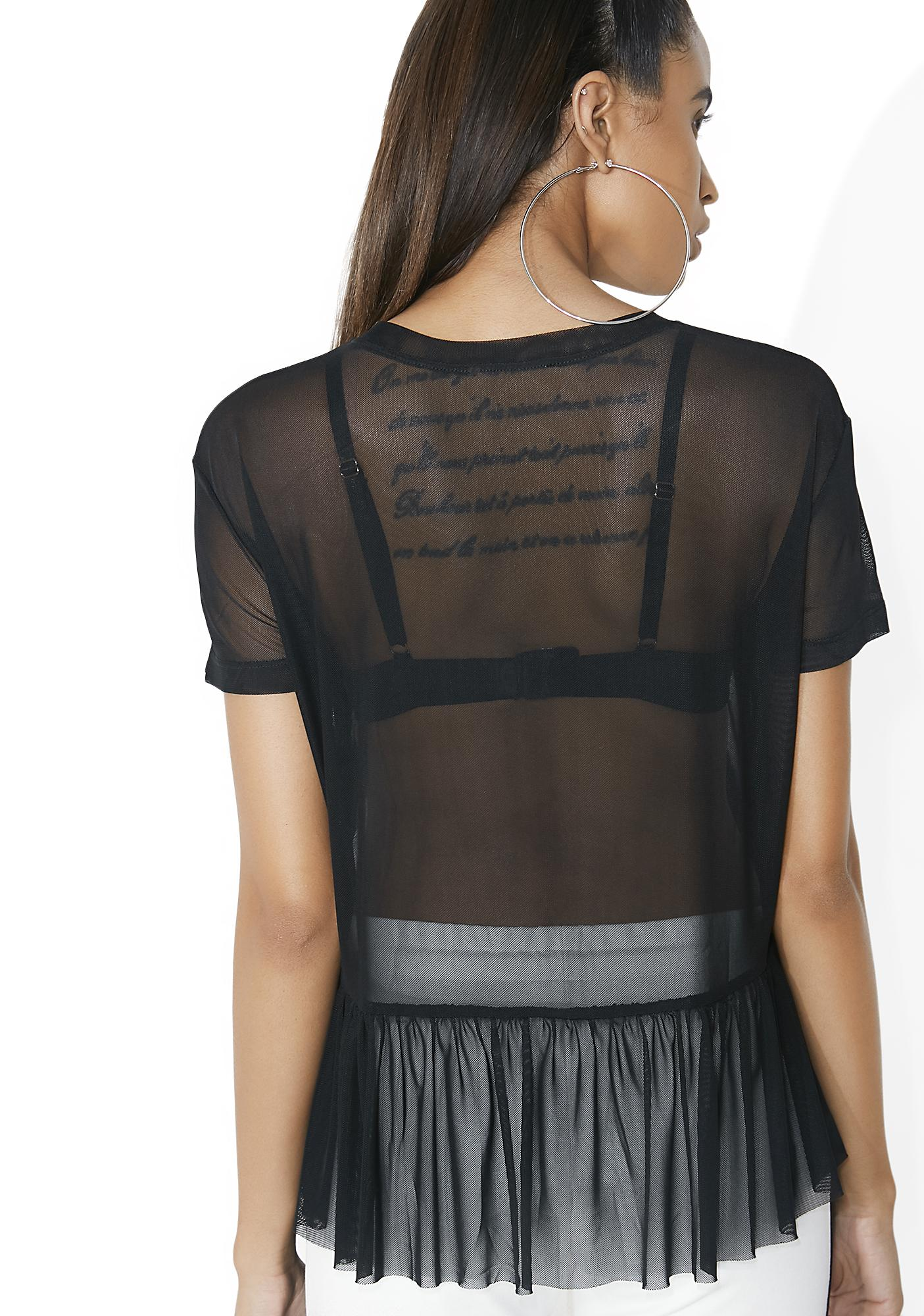Into The Mystic Sheer Tee