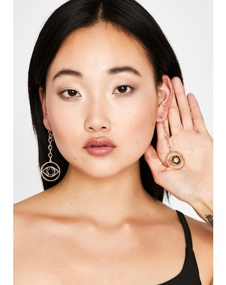 Psychic Perspective Drop Earrings