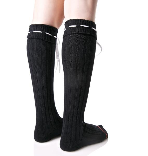 Stance Dark Dolores Knee High Socks