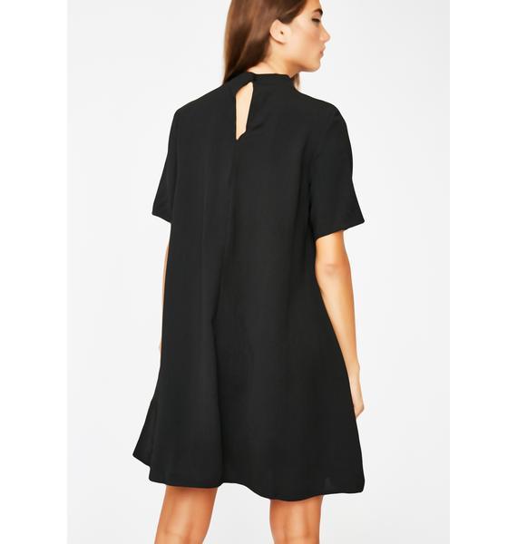 Choke Hold Mini Dress