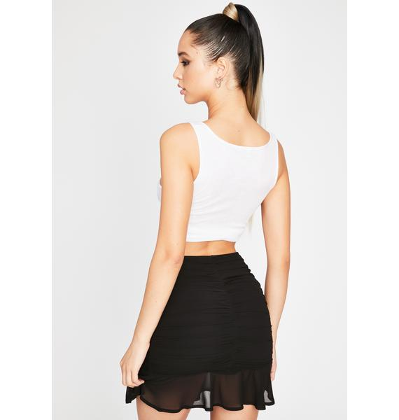 Night Queen Of Sass Ruched Skirt