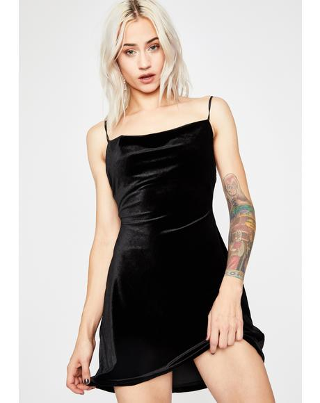 My Temptation Velvet Dress