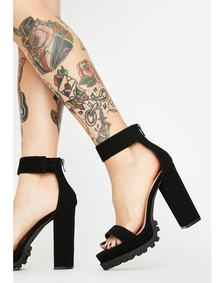 Body Snatchers Block Heels