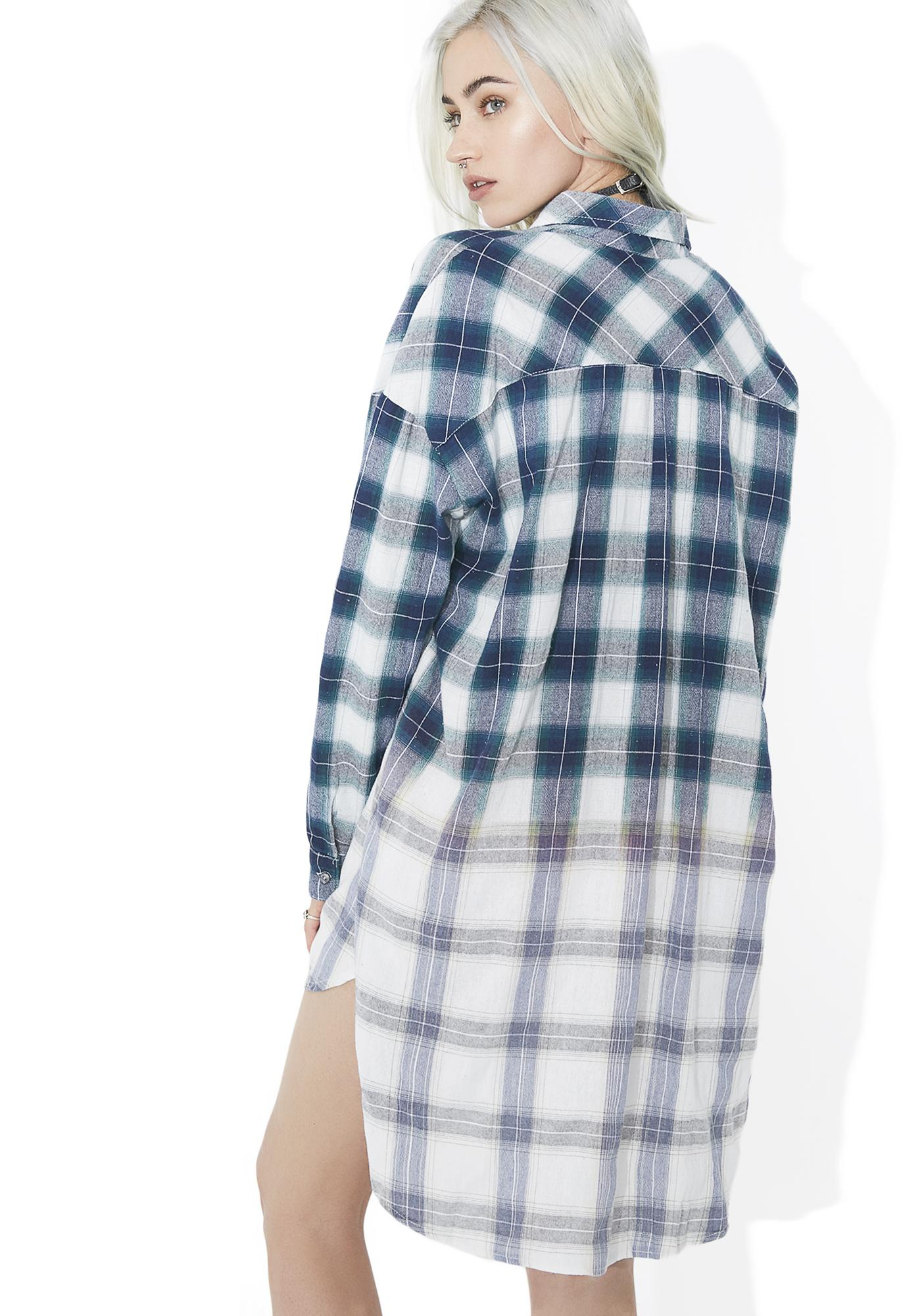 Moss New Edition Flannel Button Down