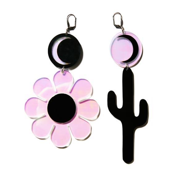 Marina Fini Cactus Earrings