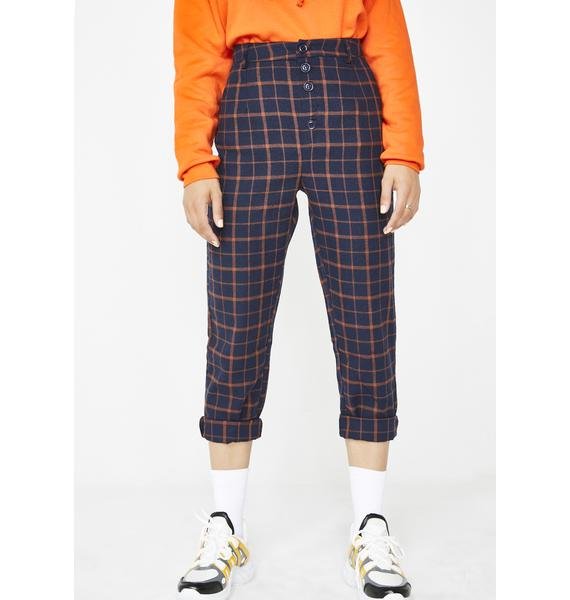 Detention Regular Plaid Pants
