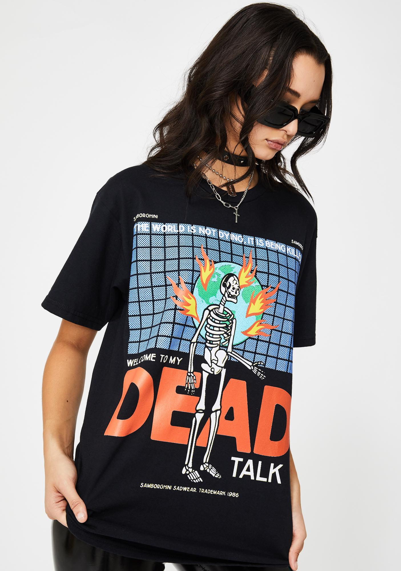 Samborghini Dead Talk Graphic Tee