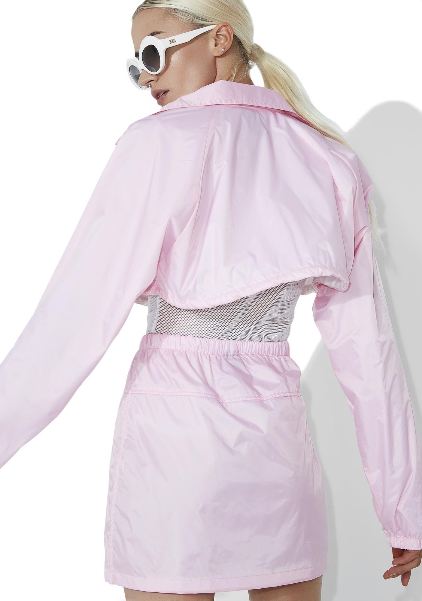 Syren Storm Warning Cropped Jacket