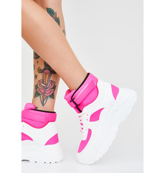 Sweet Cool Dad Platform Sneakers