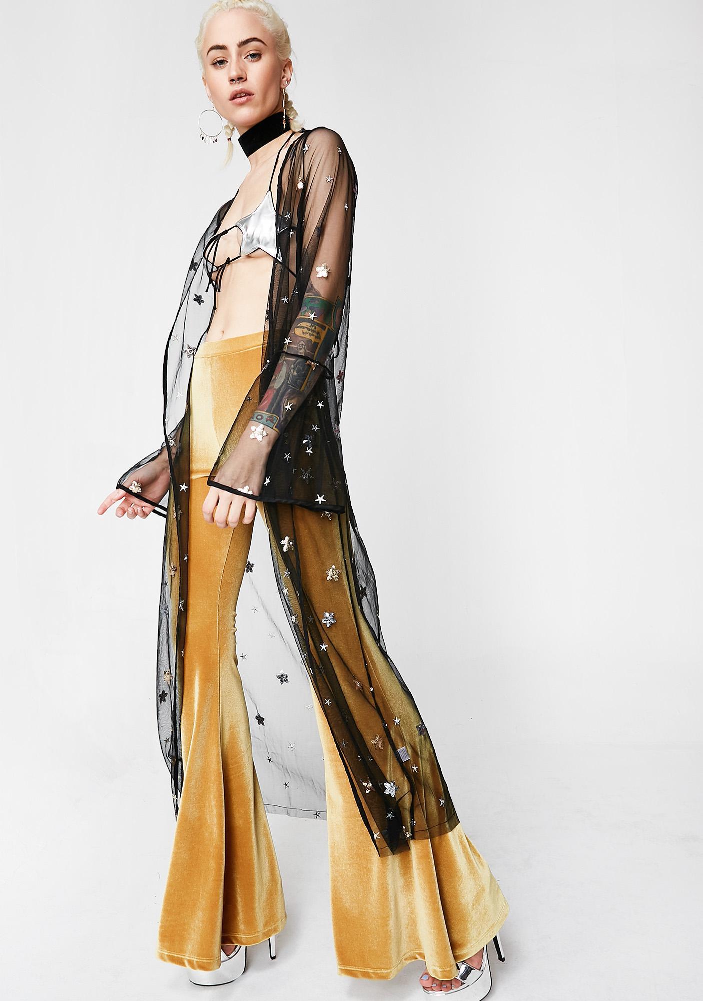 Starlight Bright Sheer Kimono