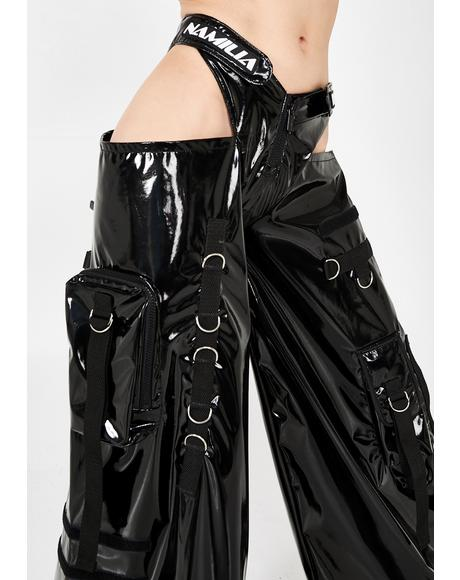 PVC Rave Panty Trousers