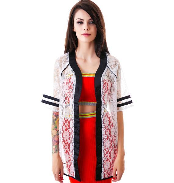 Steelin' Hines Award Lace Jacket