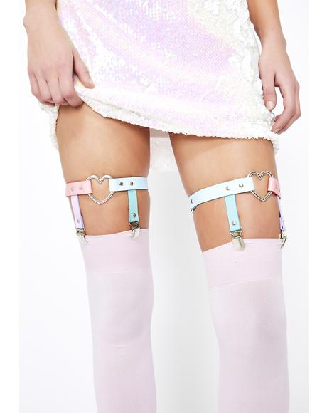 Playdate Princess Harness Garter Set