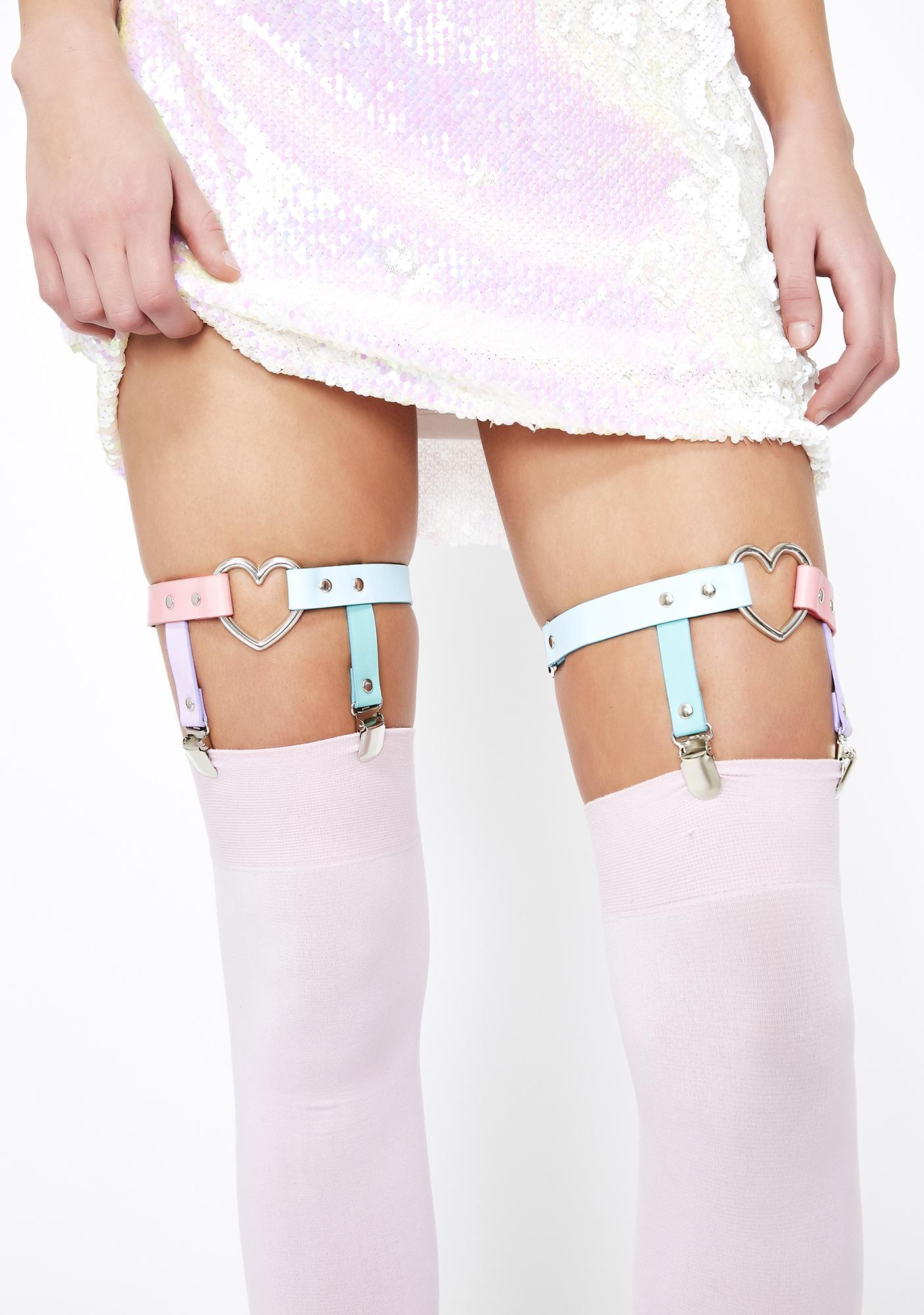 Playdate Princess Harness Garter Set