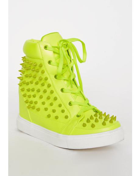 Lush Expelled Honey Wedge Sneakers