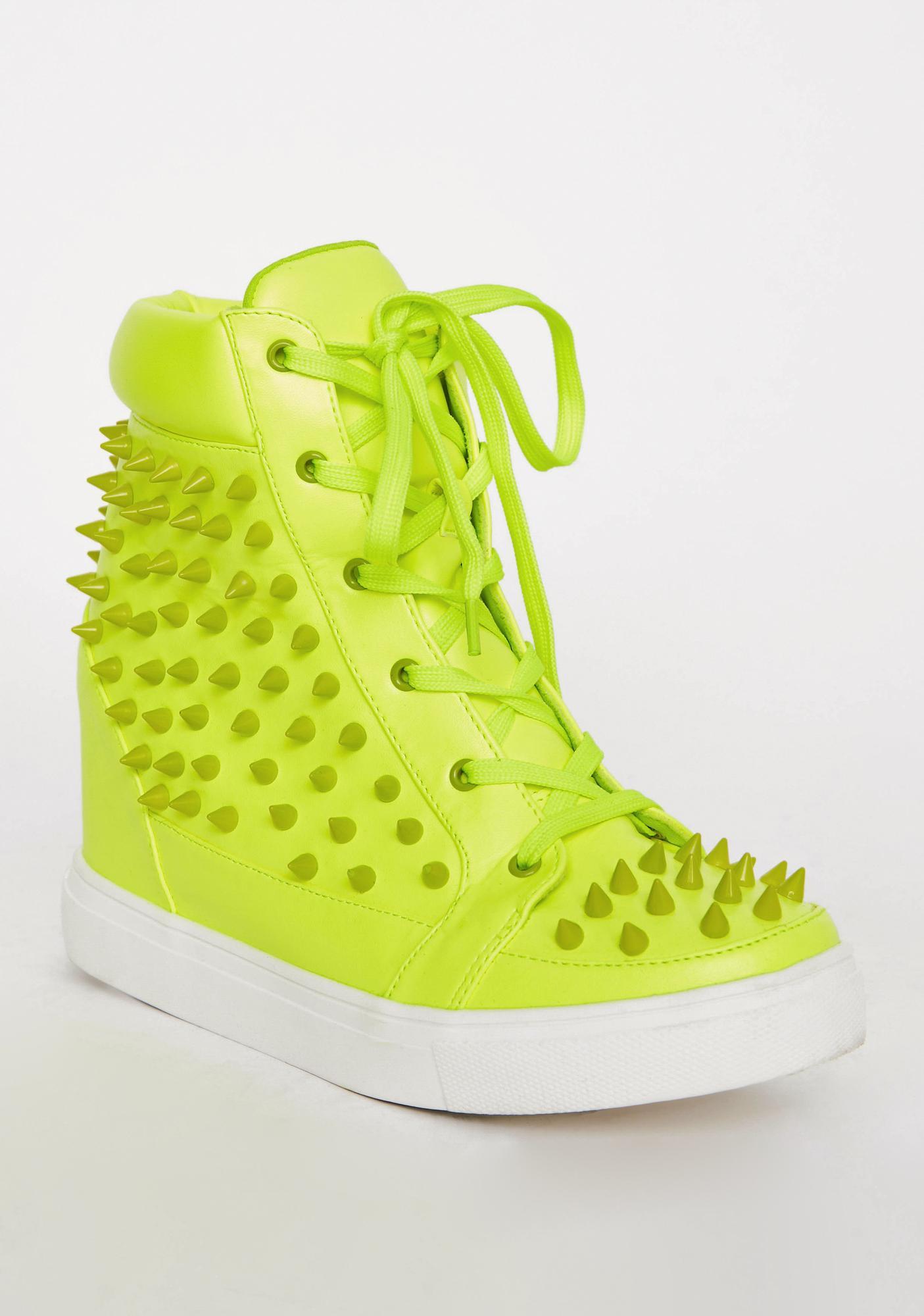 Lush Expelled Honey Wedge Sneakers