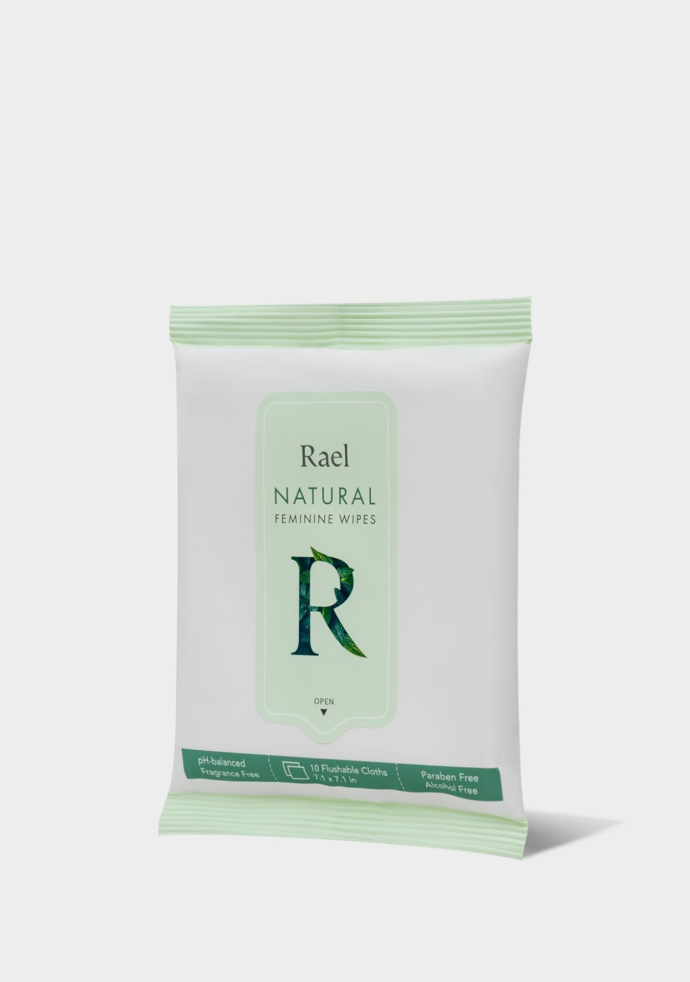 Rael Natural Feminine Wipes