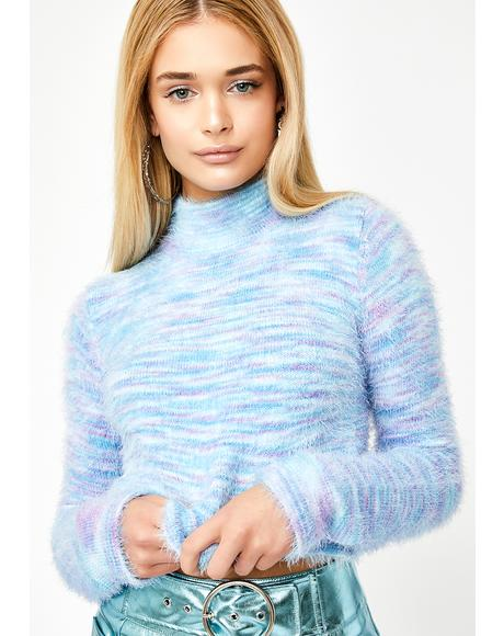 Luna Levitate Crop Sweater