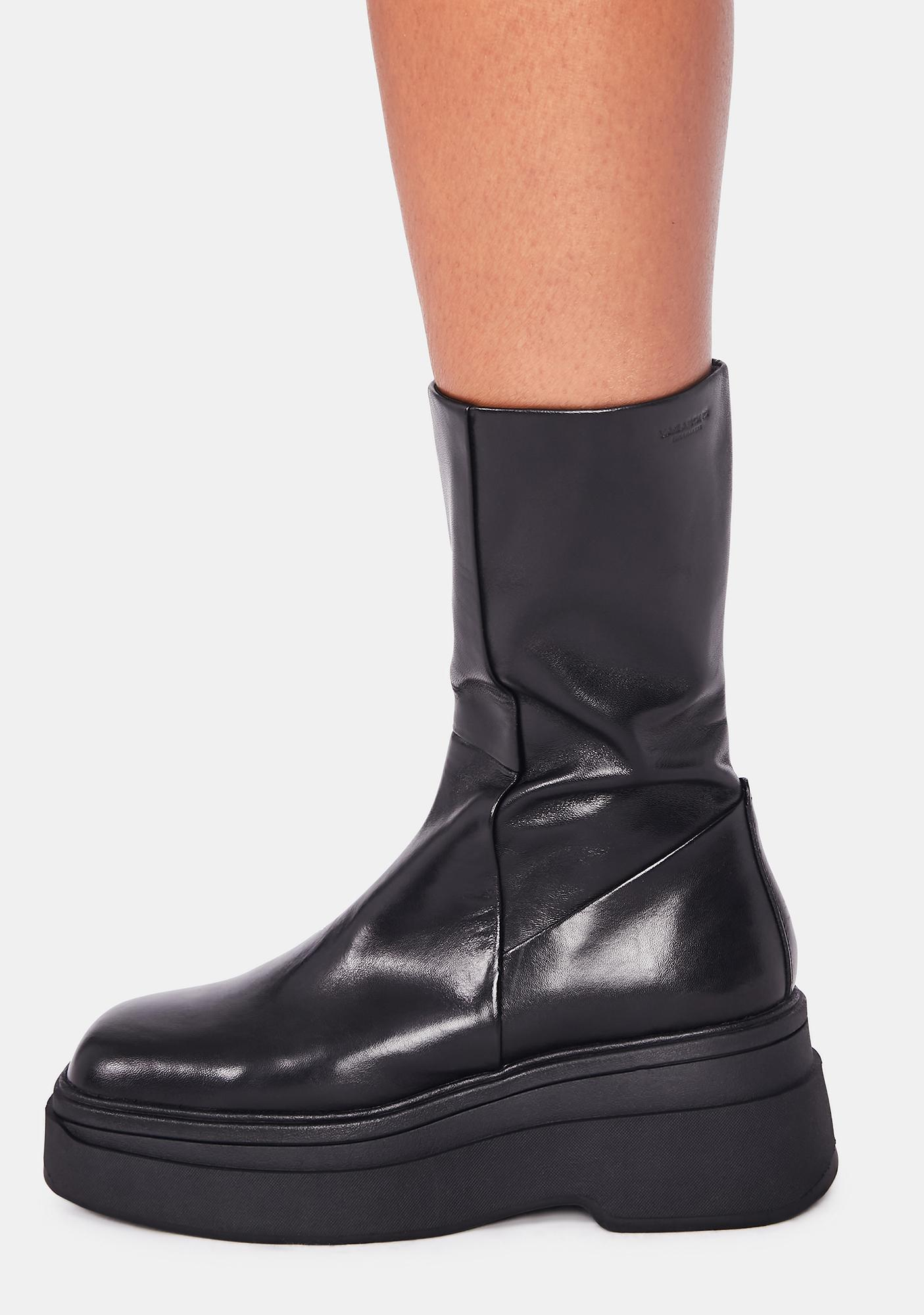 VAGABOND SHOEMAKERS Carla Leather Mid-High Boots