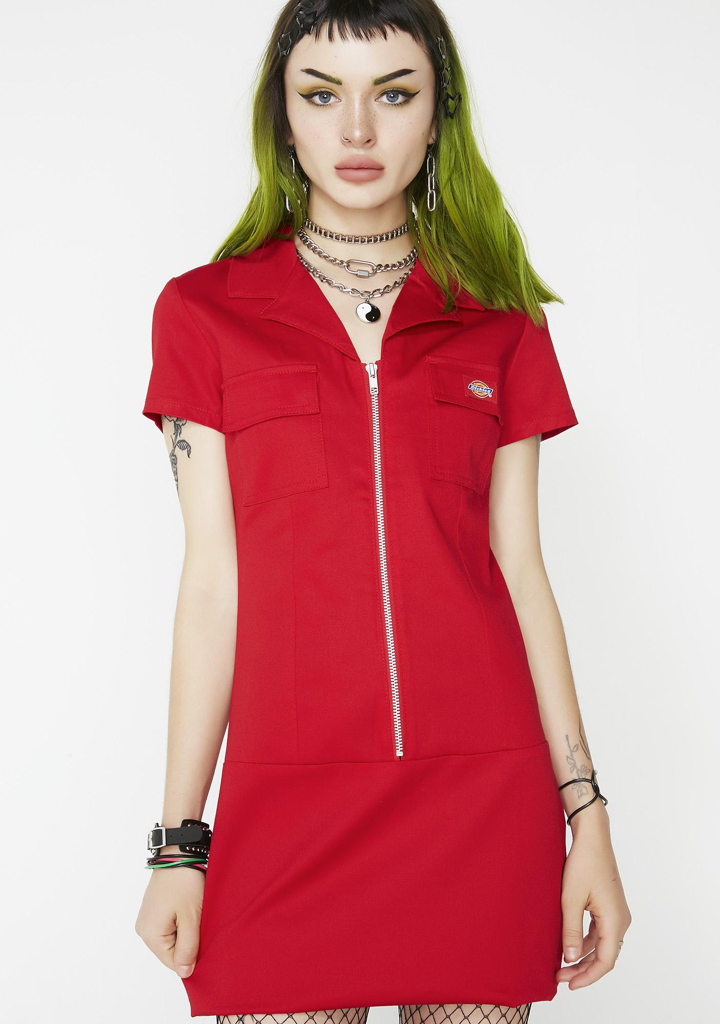 Dickies Girl Bloody Annie Zipper Dress