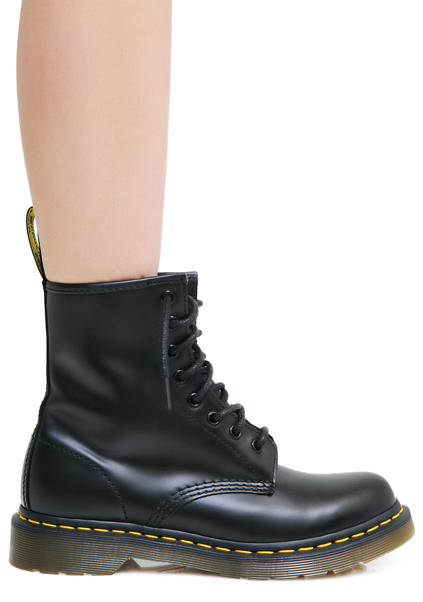 79 1460 smooth boot 1460 8 eye boots official dr martens store uk image 1 of dr martens