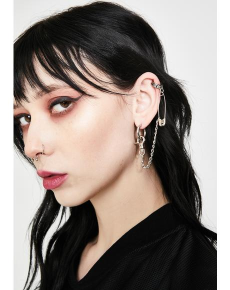 Deadly Vices Ear Chain