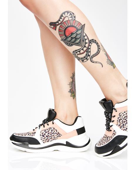 Man Cub Dad Sneakers