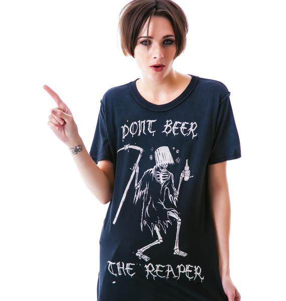 UNIF Beer the Reaper Tee