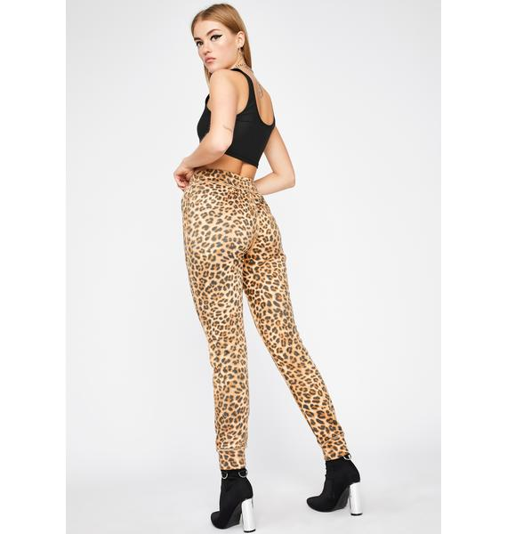 Love Bites Leopard Sweatpants