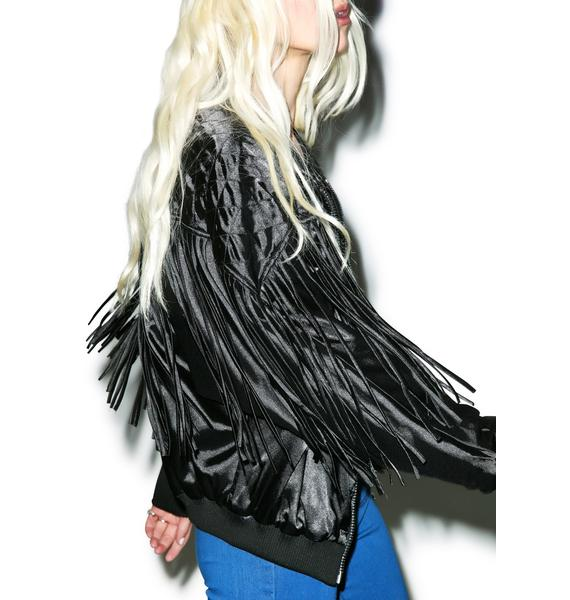 Ride Da Night Fringe Jacket
