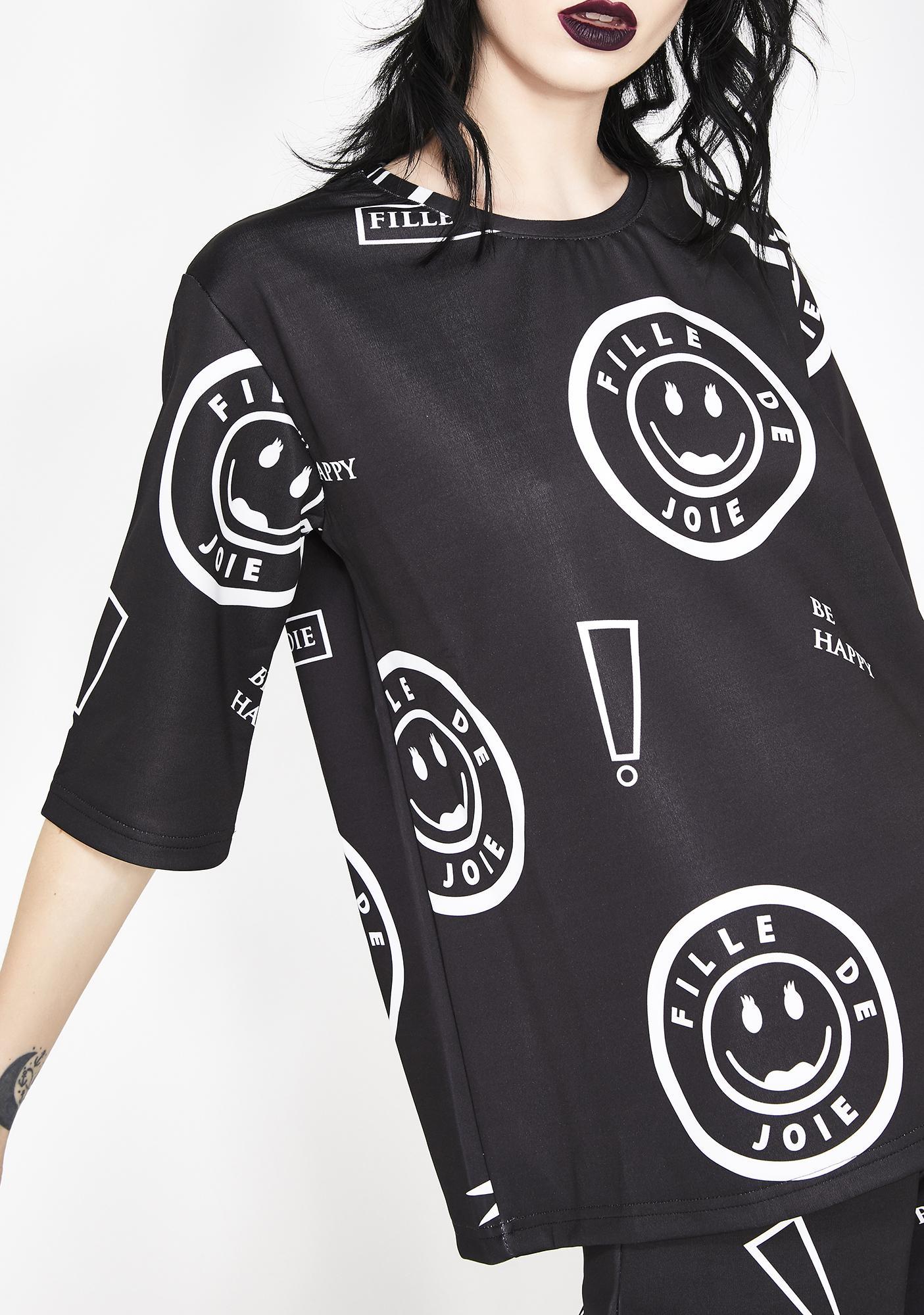Fille de Joie Question Mark T-Shirt