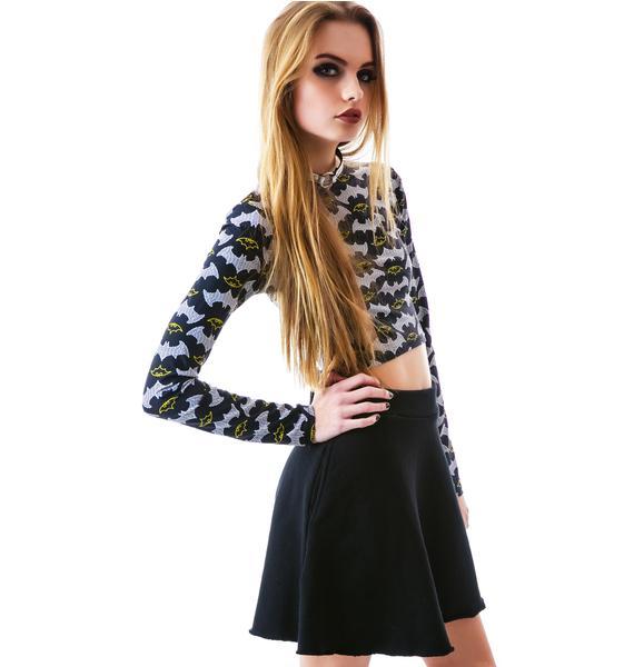 Groceries Apparel O La La French Terry Circle Skirt