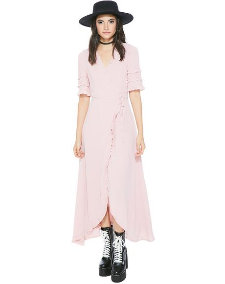 Lil' Bo Peep Wrap Dress
