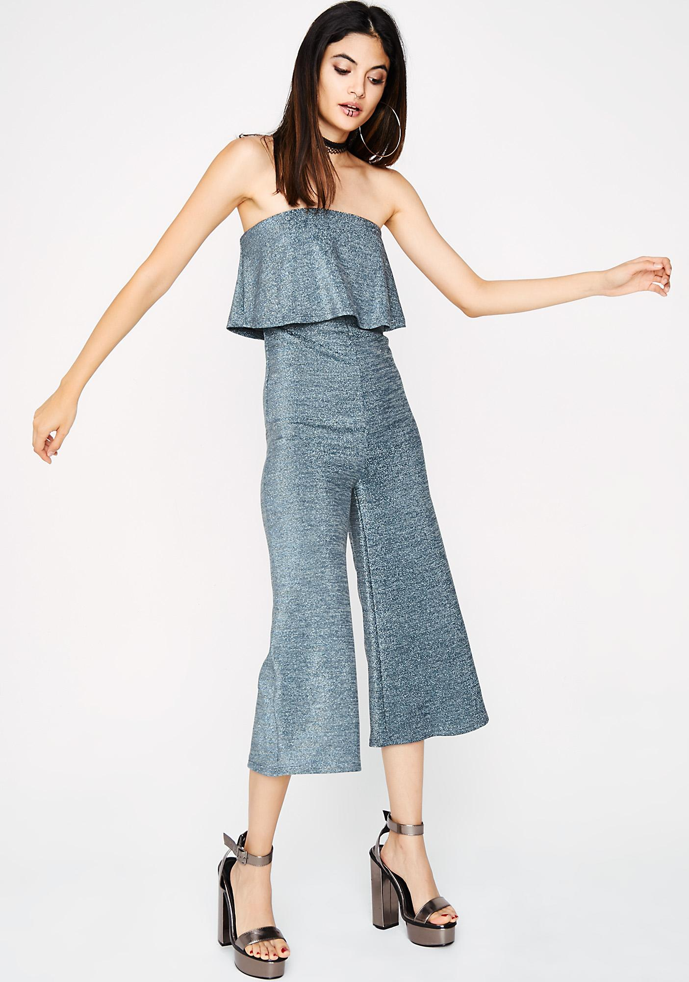 Only Girl Ruffle Jumpsuit