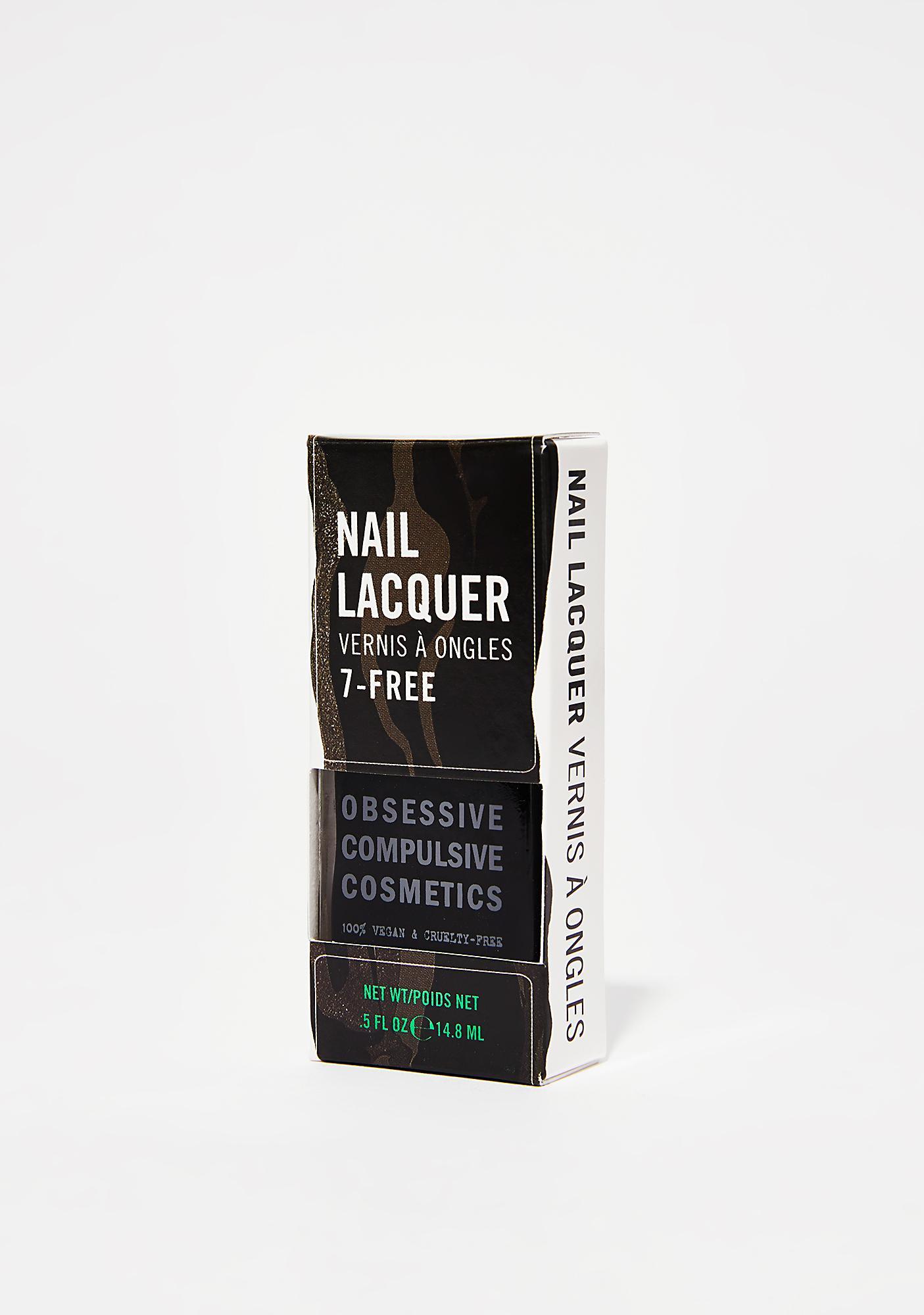 Obsessive Compulsive Cosmetics Tarred Nail Lacquer